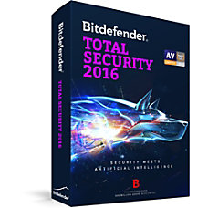 Bitdefender Total Security 2016 1 User