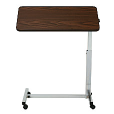 Medline Overbed Tilt Top Hospital Table