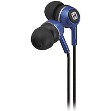 iHome Noise Isolation Earbuds With Interchangeable