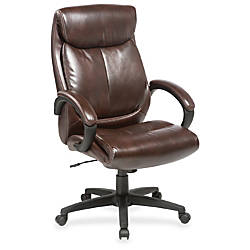 Lorell Executive Chair Brown Seat Brown