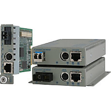 Omnitron Systems 10100BASE TX UTP to