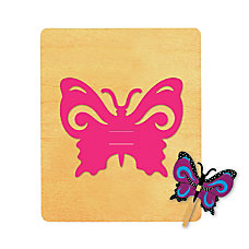Ellison SureCut Die Butterfly Finger Puppet