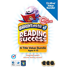 BRAINtastic v2 Reading Success Bundle Mac