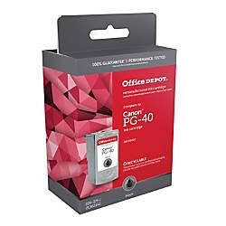 Office Depot Brand ODPG40 Canon PG
