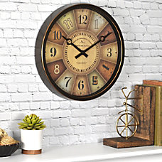 FirsTime Color Wheel Wall Clock 12