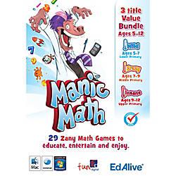 Manic Math Totally Mental Bundle Mac