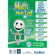 Math Made Easy v2 Bundle Mac