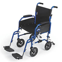 Medline Hybrid 2 Transport Wheelchair 16