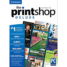 The Print Shop Deluxe v35 Download
