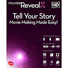 muvee Reveal X Video Editing Software