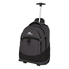 High Sierra Chaser Wheeled Backpack MercuryBlack