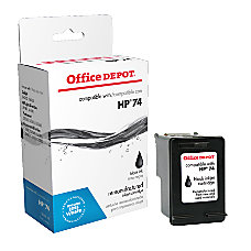 Office Depot Brand OD74 HP 74
