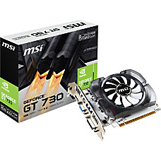 MSI N730 2GD3 GeForce GT 730