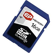 EP Memory 16GB SDHC Secure Digital