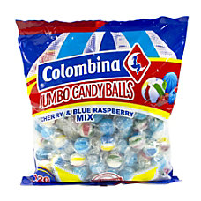 Colombina Jumbo Cherry And Blue Raspberry
