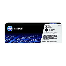 HP 85A Black Original Toner Cartridge