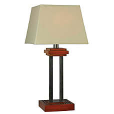 Kenroy Hadley Outdoor Table Lamp 32