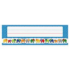 Carson Dellosa Parade of Elephants Nameplates