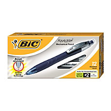 BIC Reaction Mechanical Pencils 07 mm
