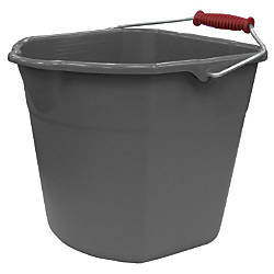 Harper® 17-Quart Plastic Easy-Pour Grip Bucket