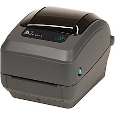 Zebra GX430t Thermal Transfer Printer Monochrome