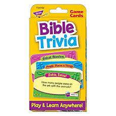 TREND Bible Trivia Challenge Cards 3