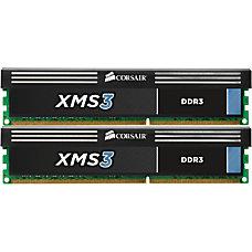 Corsair XMS3 8GB DDR3 SDRAM Memory
