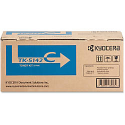 Kyocera TK 5142C Original Toner Cartridge