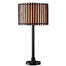 Kenroy Bora Outdoor Table Lamp 29