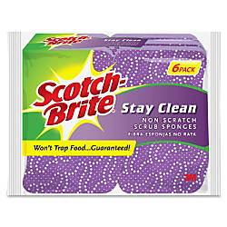 Scotch Brite Brite Stay Clean Scrub