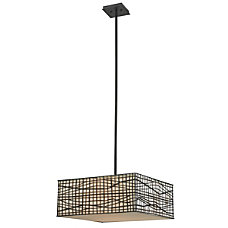 Kenroy Fortress 3 Light Hanging Pendant