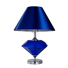 Elegant Designs Colored Glass Table Lamp
