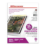 Office Depot Brand Top Loading Sheet