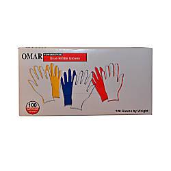 Omar Powder Free Nitrile Gloves Medium