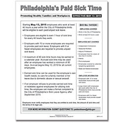 ComplyRight City Poster Paid Sick Time