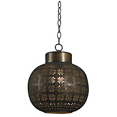Kenroy Seville 1 Light Mini Hanging