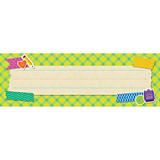 Scholastic Tape It Up Name Plates