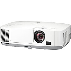 NEC Display NP P451W LCD Projector