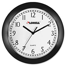 Lorell Round Profile Wall Clock Quartz