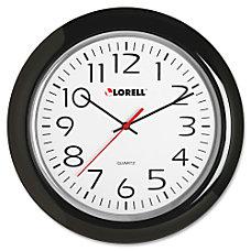 Lorell Wall Clock Analog Quartz