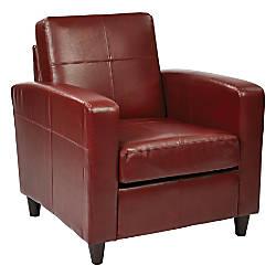 Ave Six Venus Club Chair CrimsonDark