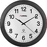 Lorell Radio Controlled Wall Clock Analog