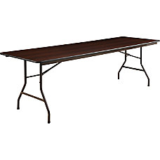 Lorell Laminate Economy Folding Table 29