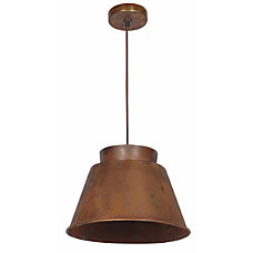 Kenroy Metalsmith 1 Light Hanging Pendant