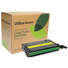 Office Depot Brand ODCLP600Y Samsung CLP