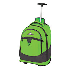 High Sierra Chaser Wheeled Backpack LimeMercury