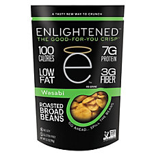 Enlightened Broad Bean Crisps Wasabi 35
