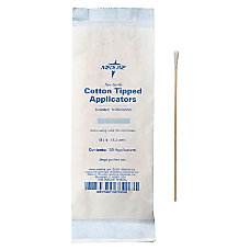 Medline Cotton Tip Applicators 6 Nonsterile
