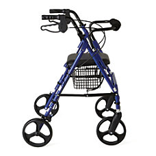 Guardian Aluminum Rollator 8 Wheels Blue