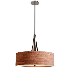 Kenroy Bulletin 3 Light Hanging Pendant